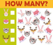 Counting Animal Games For Pres...