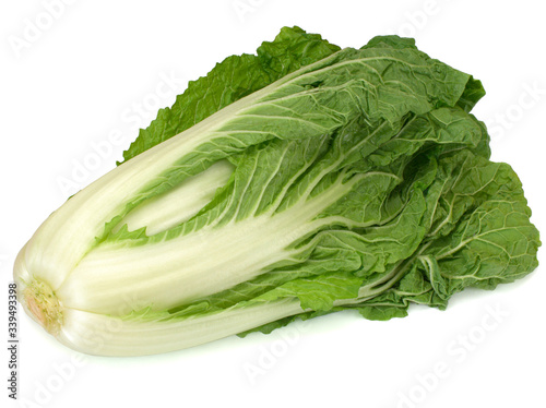 Photographie Chinese cabbage isolated on a white background