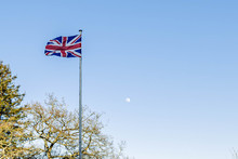 Union Jack And The Moon