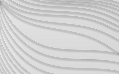 The gradient curves lines abstract texture background in monotone and gray design.Concept for curve lines black and white backgroud.
