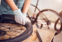 Bicycle Tire Care, Technician ...