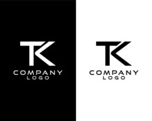 TK, KT Letter, Initial Company...