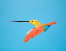 Colorful Paper Hummingbird