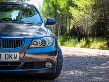 AUGUST 2017: BMW 3 Series E90 330i Sparkling Graphite Luxury Car.