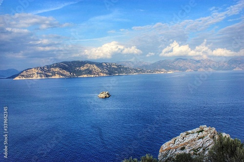 Fototapety, obrazy: Scenic View Of Sea Against Cloudy Sky