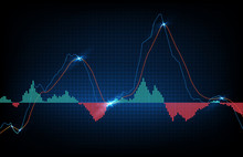 Abstract Background Of Trading...