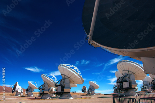 ALMA - Atacama Large Millimeter Array Canvas Print