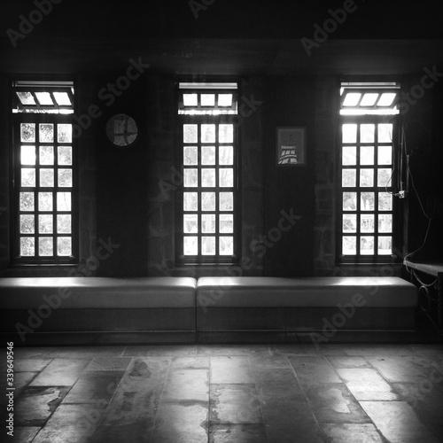 Obraz Empty Seats In Church - fototapety do salonu