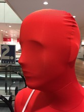 Close-up Of Red Mannequin