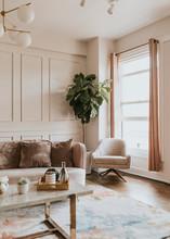 Stylish Pastel Living Room