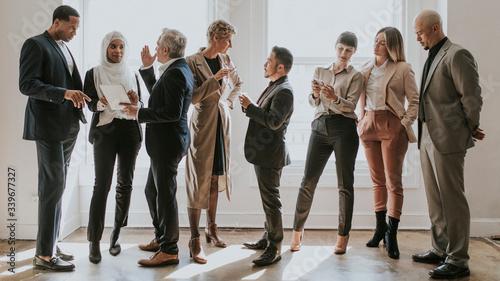Fototapeta Diverse business team obraz