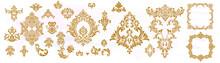Vintage Baroque Ornament. Retr...