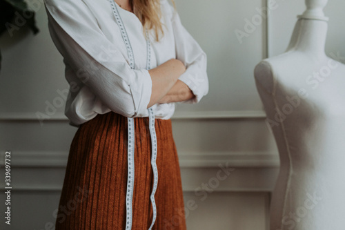Fényképezés Confident female fashion designer