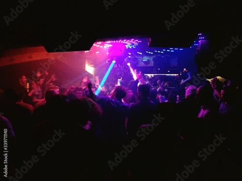 Photo People Enjoying At Nightclub
