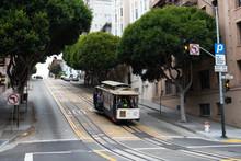 San Francisco - September 17, 2012: Cable Car In San Francisco, California