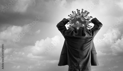 Obraz hypochondriac concept - fototapety do salonu