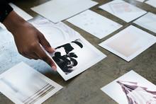 Designer Working On Concept