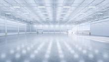 3d Rendering Hangar