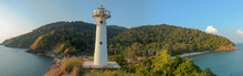 View Of Lighthouse And Lush Fo...