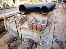 Corrugated Pipe Connecting The...