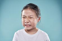 Portrait Of Little Asian Girl ...