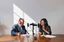 Business Podcast Recording