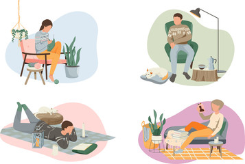 Hygge Lifestyle Compositions Set