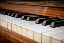 Old But Beautiful Piano Keys