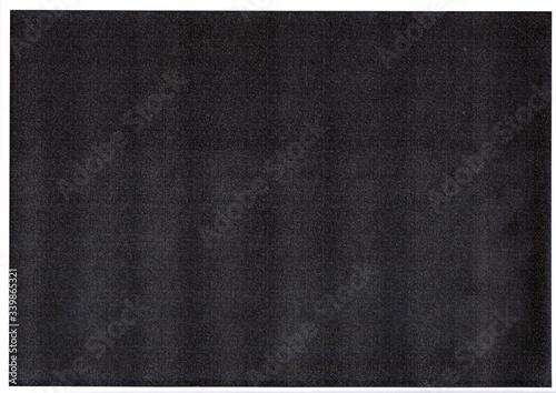 Print to test black toner , Black paper texture background.