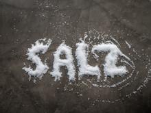 German Word SALZ (SALT In Engl...