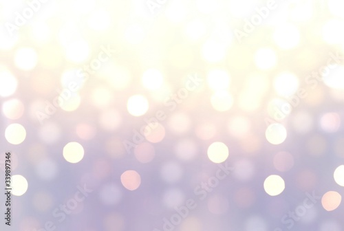 Fototapety, obrazy: Sparkles close up on lilac iridescent blur backdrop. Glitter texture.