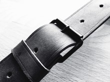 Close-up Of Belt Buckle
