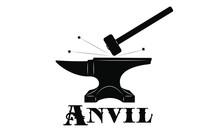Logo Forge - Anvil And Sledgehammer