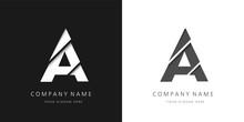 A Letter Modern Logo Broken De...