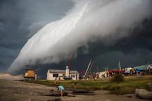 Storm In Punta Del Diablo Roch...