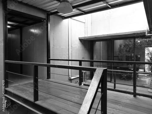 Obraz Interior Of Building - fototapety do salonu