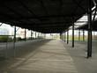 Soccer Goal Posts At Empty Shunting Yard