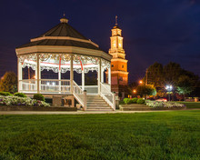 Town Center Gazebo And Clock Town