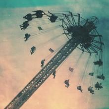Amusement Park Ride Against Sky