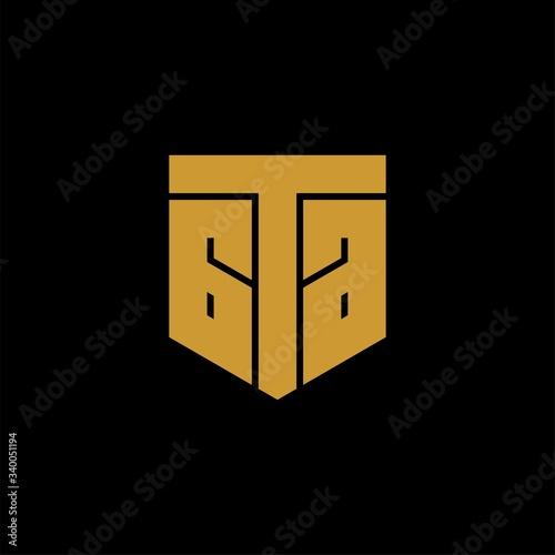 Photo initial letter gta or ata logo