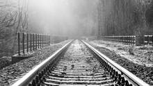 Dream Journey. Railroad Tracks...
