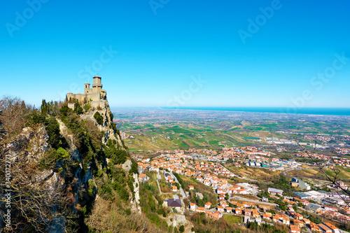 San Marino and Borgo Maggiore