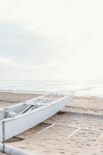 Scenic View Of Sea Against Sky - fototapety na wymiar