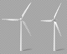 Wind Turbine Front And Angle V...