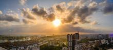 Singapore 2017 West Skyline Of...