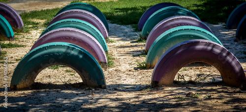 Fotografie, Tablou Archway On Field