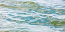 The Surface Of The Water In Th...