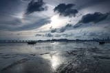 Fototapeta Morze - Scenic View Of Sea Against Cloudy Sky