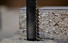 Macro Bandsaw Blade And A Cut ...
