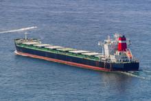 Oil Tanker Sailing In The Guanabara Bay In Rio De Janeiro.